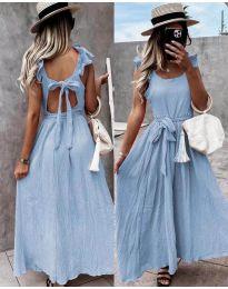 Haljina - kod 4806 - svijetlo plava
