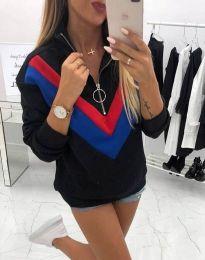 Bluza - kod 7890 - 4 - crna