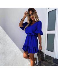 Haljina - kod 2566 - tamno plava
