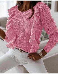 Džemper - kod 9087 - roze
