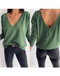 Bluza - kod 3330 maslinasto zelena