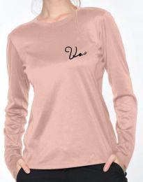 Bluza - kod 6516 - 2 - roze