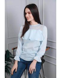 Bluza - kod 0628 - 1 - svijetlo plava