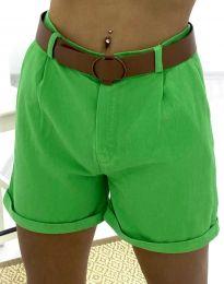 Kratke hlače - kod 2236 - 5 - zelena