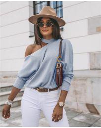 Bluza - kod 5618 - svijetlo plava