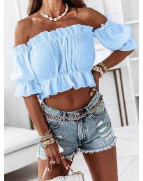 Bluza - kod 11898 - svijetlo plava