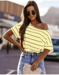 Majica - kod 5865 - žuta