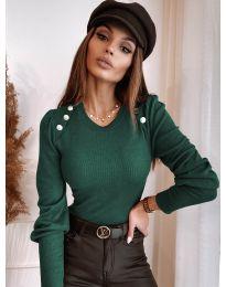 Bluza - kod 3111 - maslinasto zelena