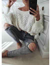 Džemper - kod 5147 - bijela