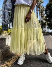 Suknja - kod 1130 - žutа
