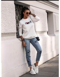 Bluza - kod 434 - bijela