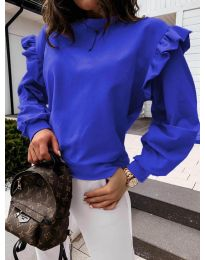 Bluza - kod 6613 - tamno plava