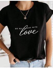 Majica - kod 3660 - crna