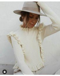 Bluza - kod 9656 - bijela