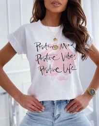 Majica - kod 11670 - bijela