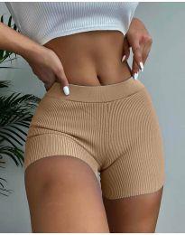 Kratke hlače - kod 10155 - kapućino