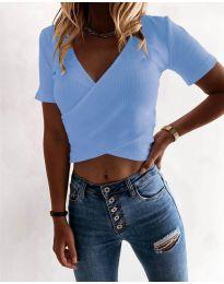 Majica - kod 1102 - svijetlo plava