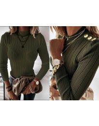 Bluza - kod 9930 - maslinasto zelena