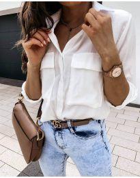 Košulja - kod 6148 - bijela