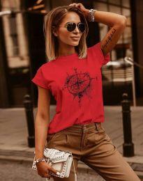 Majica - kod 3245 - crvena
