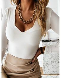 Bluza - kod 4086 - bijela