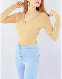Bluza - kod 6455 - kapućino