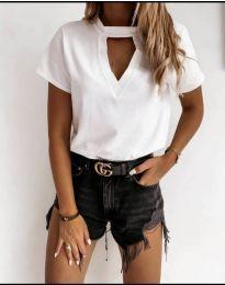 Majica - kod 3597 - bijela
