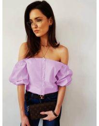 Bluza - kod 243 - ljubičasta