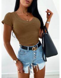 Bluza - kod 756 - smeđa