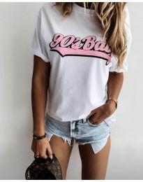 Majica - kod 6267 - 1 - bijela