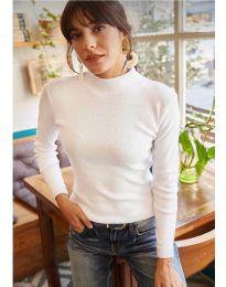Bluza - kod 11499 - bijela