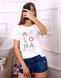 Majica - kod 3542 - bijela