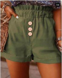 Kratke hlače - kod 9383 - zelena
