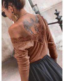 Bluza - kod 188 - smeđa