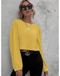 Bluza - kod 5932 - žuta
