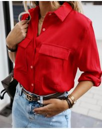 Košulja - kod 6148 - crvena