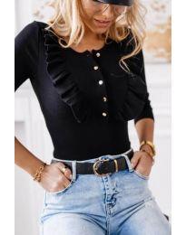 Bluza - kod 9792 - 3 - crna