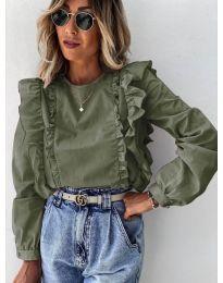 Bluza - kod 6615 - zelena
