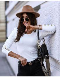 Bluza - kod 4448 - 1 - bijela