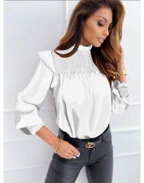 Bluza - kod 6202 - bijela