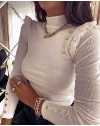 Bluza - kod 11483 - 4 - bijela