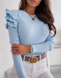 Bluza - kod 3608 - svijetlo plava