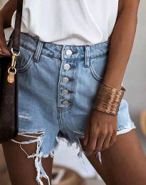 Kratke hlače - kod 4308 - 1 - svijetlo plava