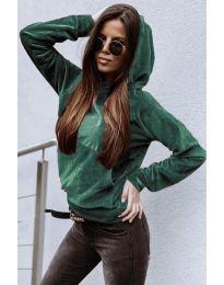 Bluza - kod 9891 - zelena