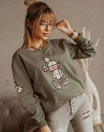 Bluza - kod 2959 - maslinasto zelena