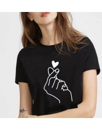 Majica - kod 816 - crna