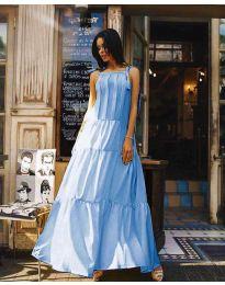Haljina - kod 1105 - svijetlo plava