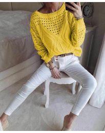 Bluza - kod 6182 - senf