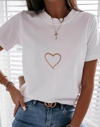Majica - kod 3701 - bijela