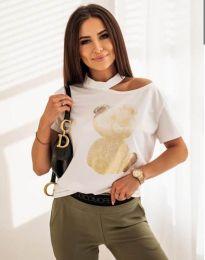 Majica - kod 11711 - bijela